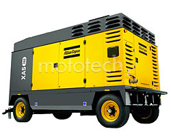 Atlas Copco XAS 746 CD